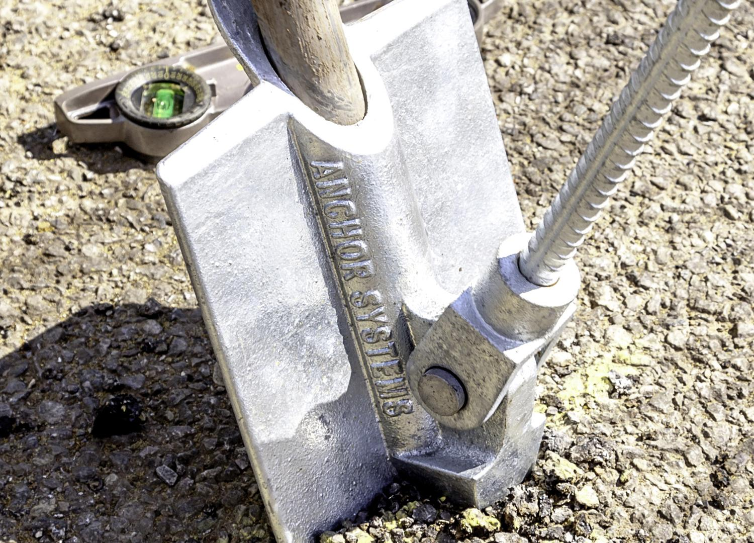 Vulcan Earth Ground Anchor with Galvansied Steel Wire