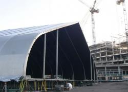 Temporary Pavilion at Wembley Arena